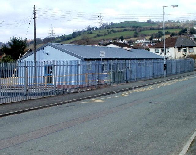 Celtic Way side of Bedwas Junior School