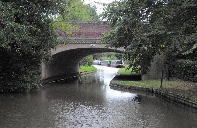 Stafford Road Bridge at Weston upon Trent, Staffordshire