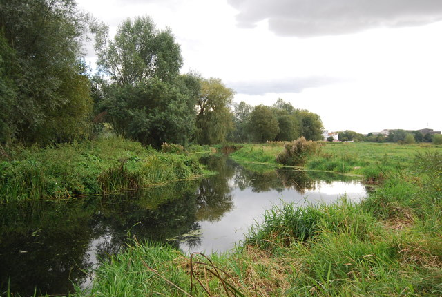 Meanders, River Gipping