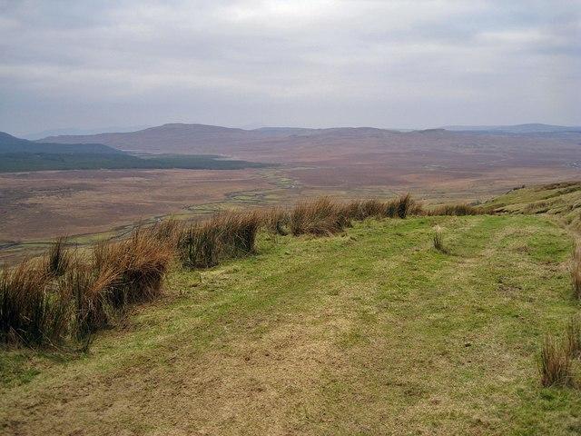 Track towards Glenmore
