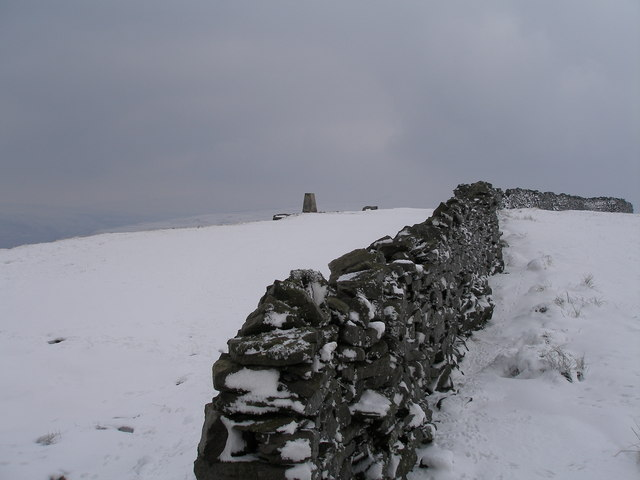 Trigpoint at Capplestone gate