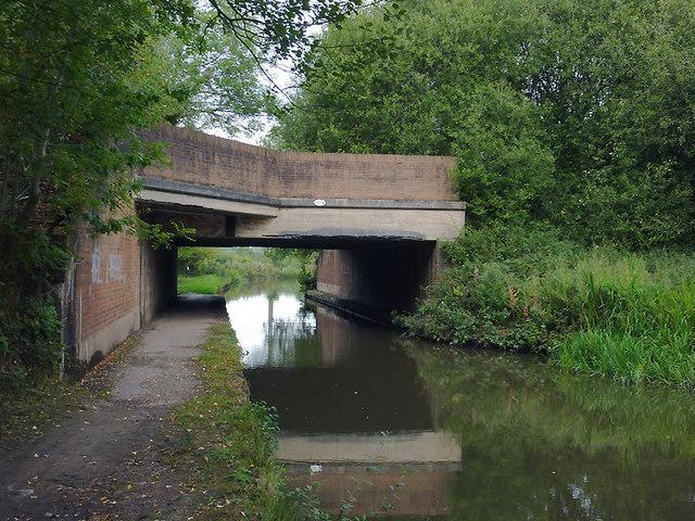 Canal Bridge near Meaford, Staffordshire