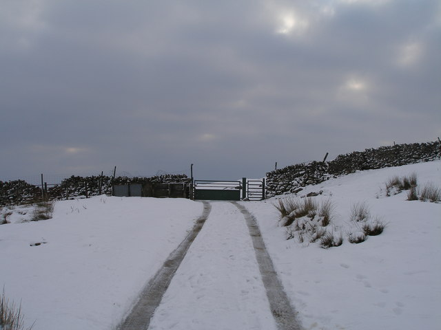 Gate between Bycliffe and Kelber