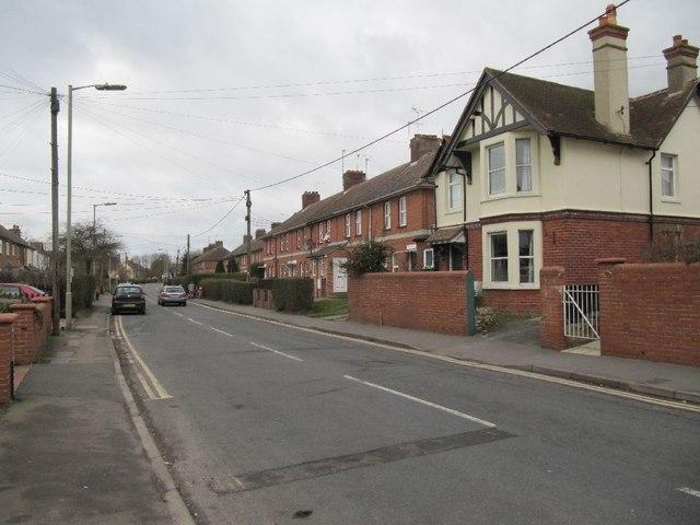 Towards St Johns Terrace