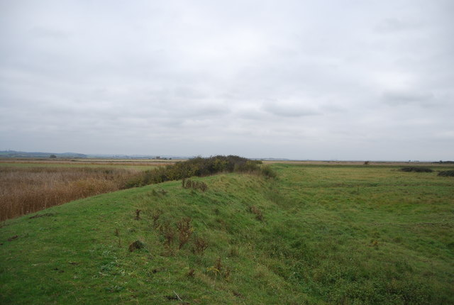 Footpath on Old Seawall, Halstow Marshes