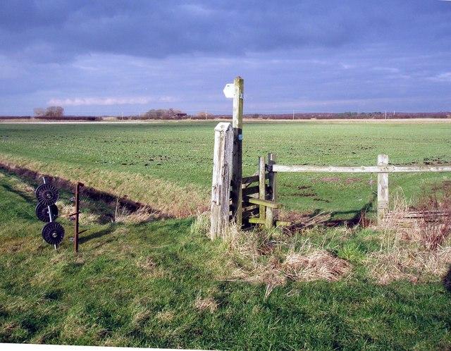 Footpath to Great Altcar