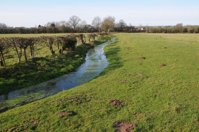 Stream near Eardisley