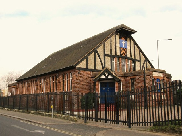 West Hendon Baptist Church, Wilberforce Road, NW4