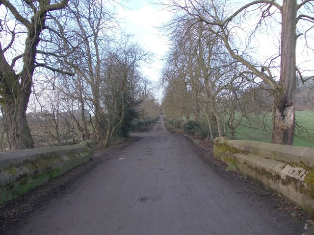 Footpath - end of Higher Coach Road