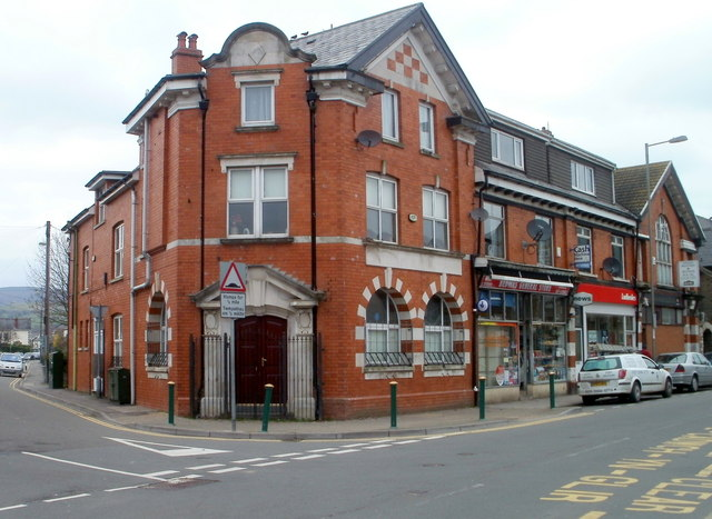 Corner of Church Street and Pandy Road, Bedwas