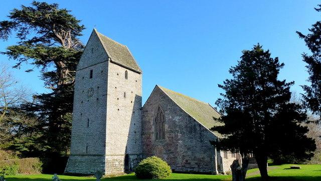 St. James's church, Kinnersley
