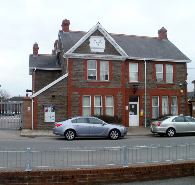 Bedwas Police Station