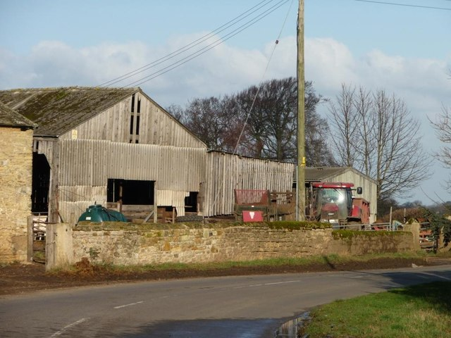 Farmyard, Bilham House Farm