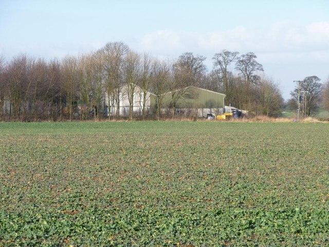 Farm buildings at Bilham Grange