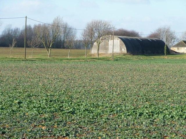 Nissen hut at Bilham Grange