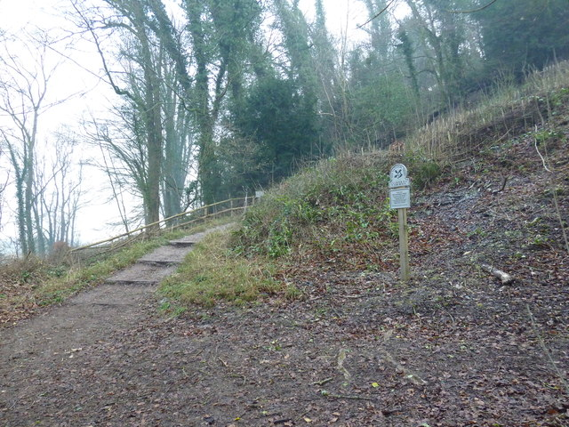 Sign at the bottom of Zig Zag Hill