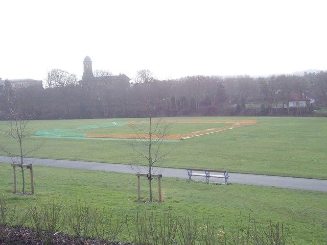 Cricket Pitch - Roberts Park