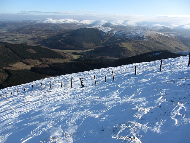 Fence on Cardon Hill