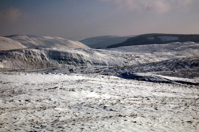 A view across Yr Ochrydd