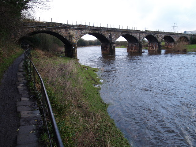 Engine Lonning Bridge over the River Eden