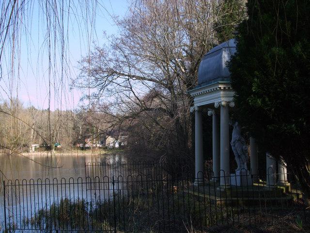 Folly, The Lake, Buscot Park