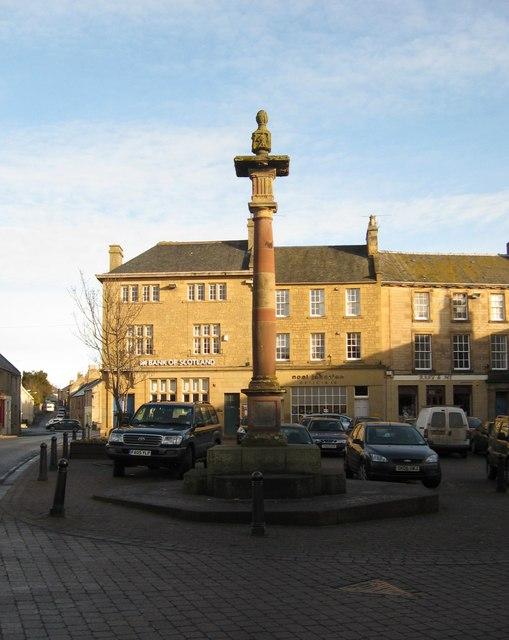 Burgh of Duns Mercat (Market) Cross