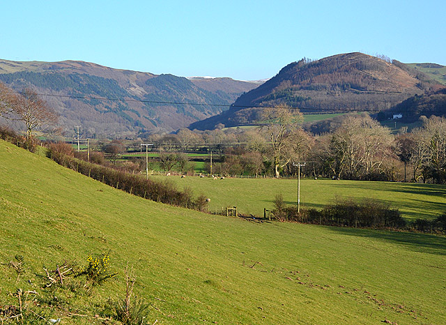 View up Cwm Rheidol