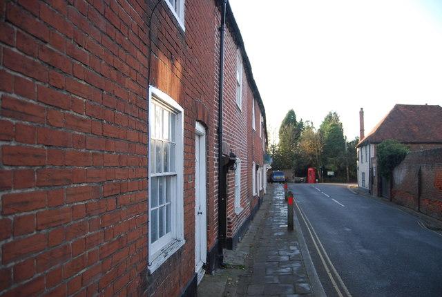 Terraced houses, King St