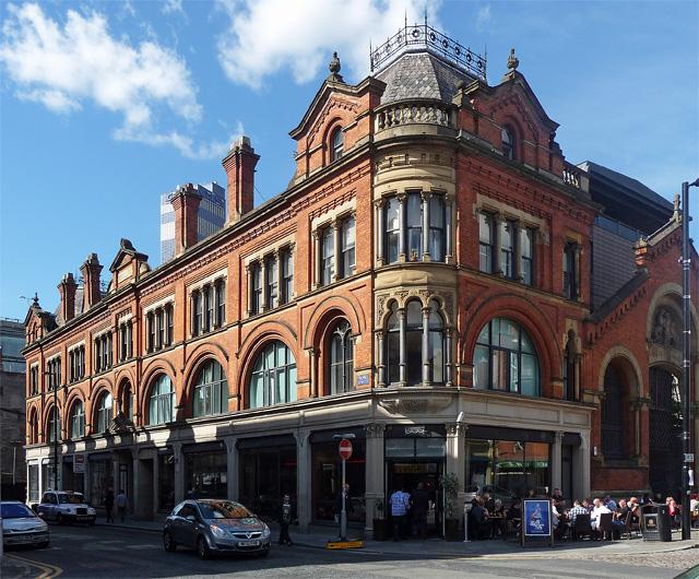 Former market offices, High Street, Manchester