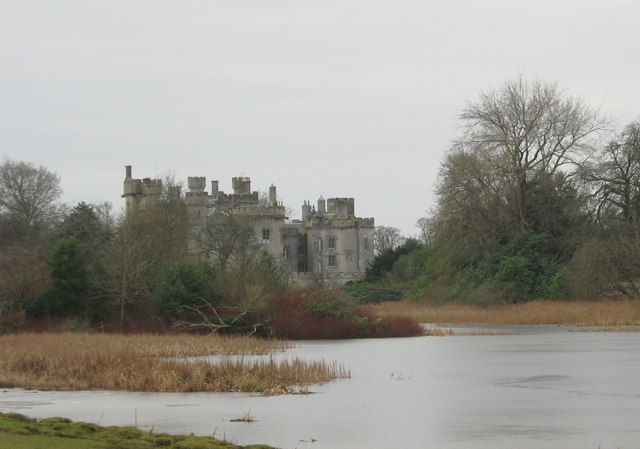 Looking over Hen Poo to Duns Castle
