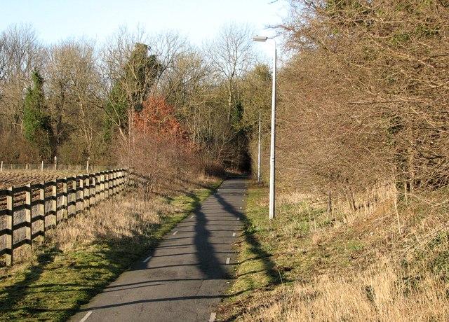 Stapleford: safe path