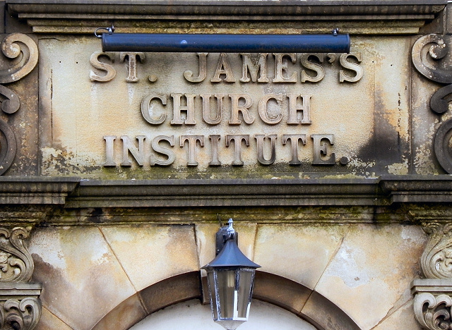 St James's Church Institute (detail)