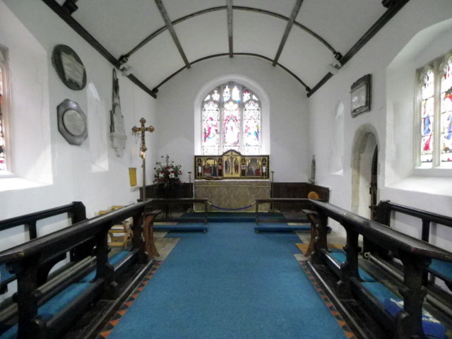Interior, The Church of St Michael and All Angels