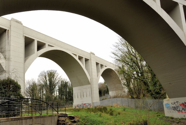 Bleach Green viaducts, Whiteabbey (4)