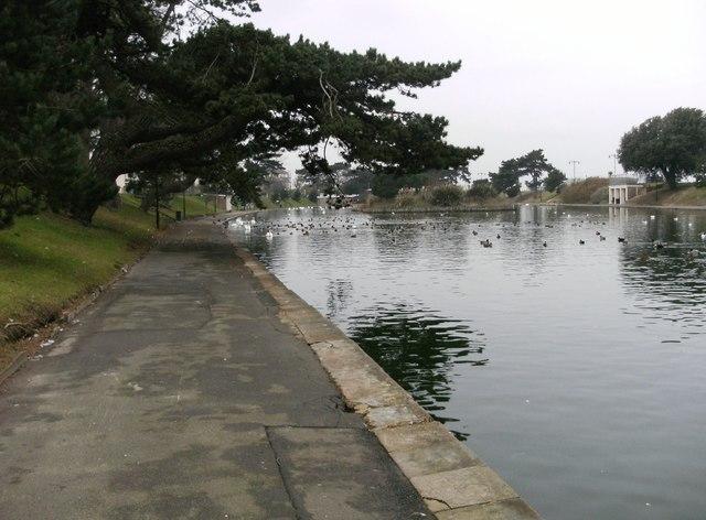 Boating Lake by Ryde Esplanade