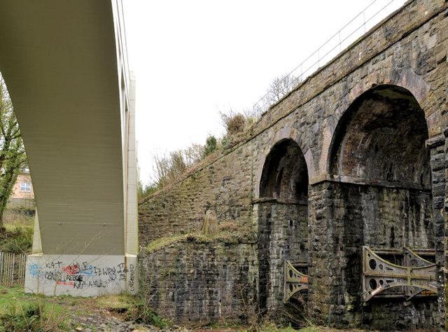 Bleach Green viaducts, Whiteabbey (5)