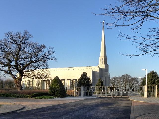 Temple Way and Preston Temple England
