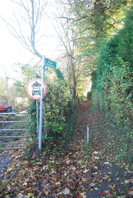 Bridleway off Wilson Lane