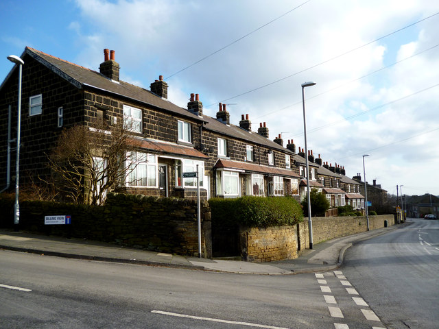 Rawdon, Yorkshire:  Wentworth Terrace, Town Street
