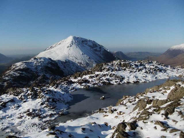 Tarn near the summit of Haystacks