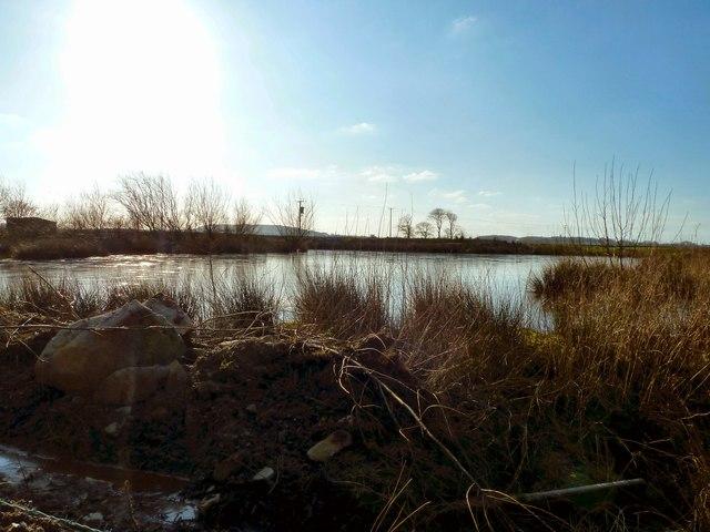 Lochan by Balcraig Moor