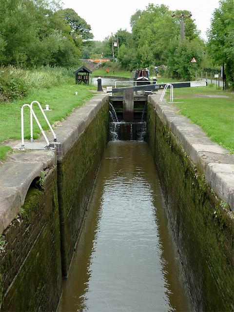 Meaford Road Lock, Staffordshire