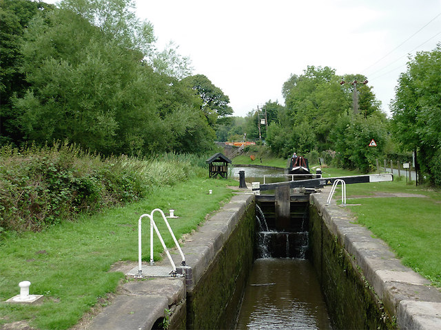 Meaford Road Lock, Staffordshire