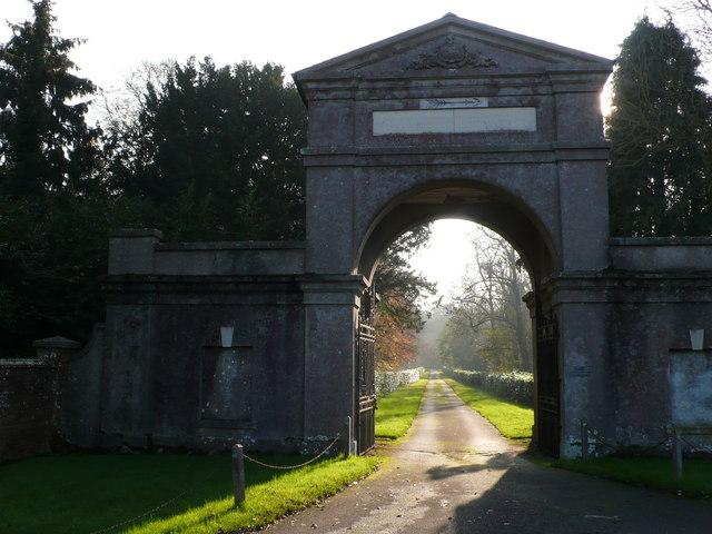 Main Entrance to Charborough Park