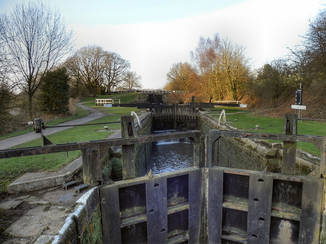 Leeds and Liverpool Canal, Lock#64 (Johnson's Hillock)