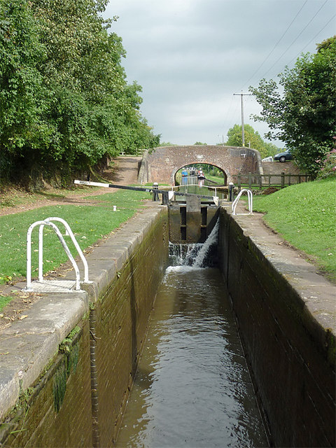 Meaford House Lock, Staffordshire