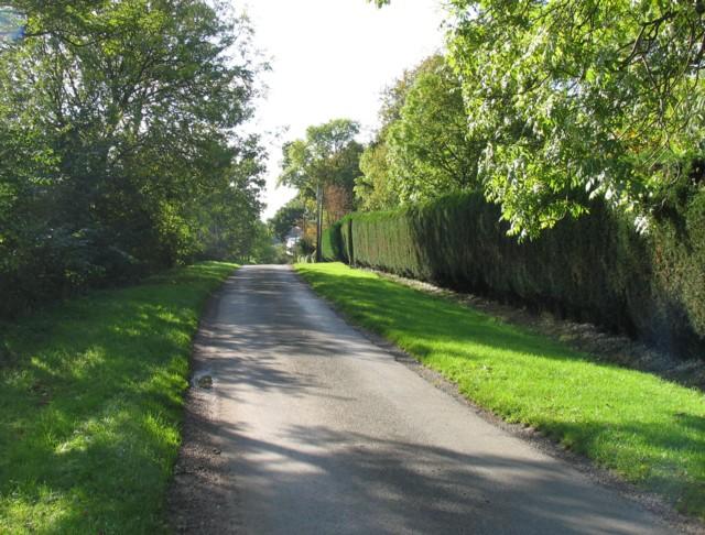 Six Hills Road westwards