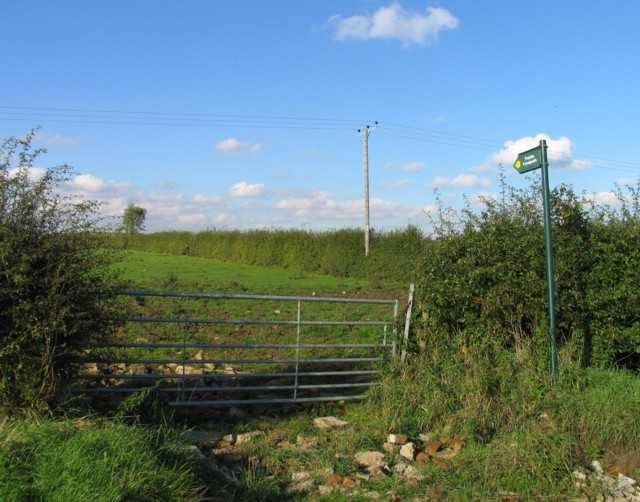 Footpath towards Wymeswold