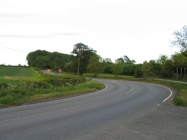 Shoby Road Bends on the A6006