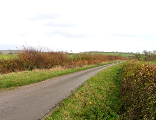 Marefield Lane towards Marefield
